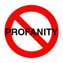 No Profanity 3x3