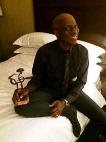 PHOTO CAPTION (below): Keb' Mo' was awarded the Contemporary Blues Album award at the 36th annual Blues Awards for his album 12th studio album, BLUESAmericana. The awards took place in Memphis on Thursday, May 7.